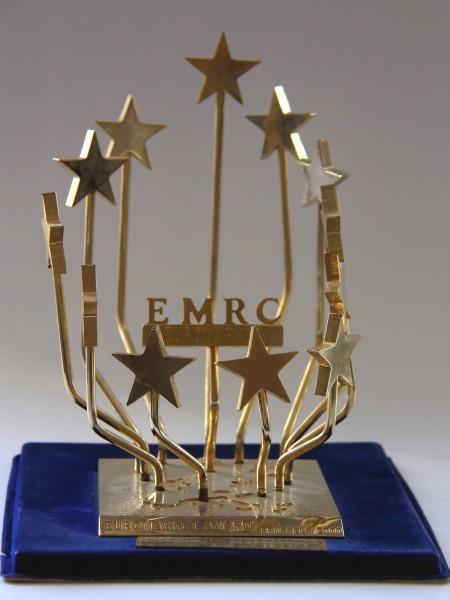 Награда 'Евромаркетцентр' к диплому качества Еврорынка