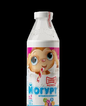 Дитячий йогурт 3% 200г ТМ _Злагода_