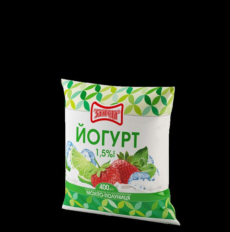 йогурт мохіто ТМ Злагода