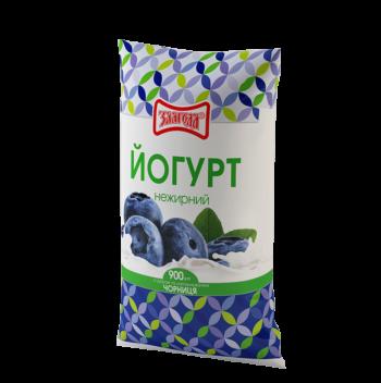 йогурт чорниця 910 ТМ Злагода