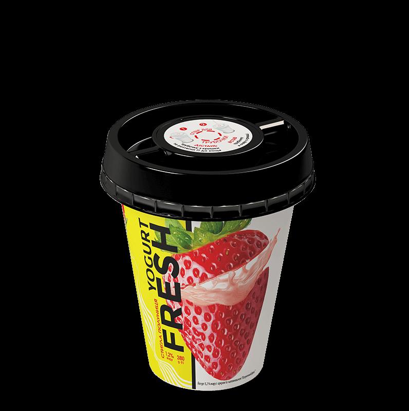 fresh полуниця трубочка ТМ Злагода